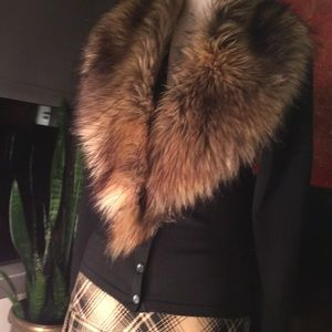 Vintage Faux Fur Collar